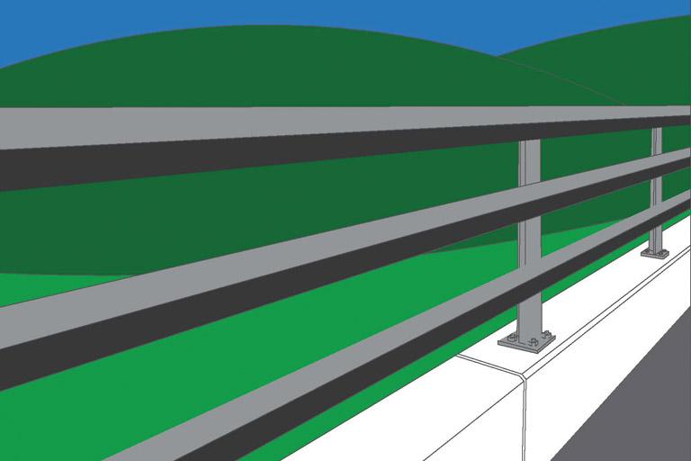 Standard Highway Barrier Concept