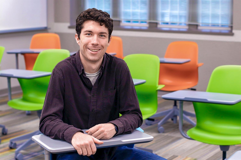 Eli Darby in Classroom