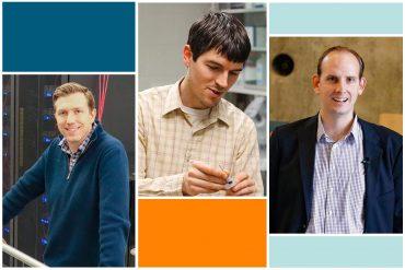 Montage of Dustin Crouch, Michael Jantz, and Nicholas Weirscham
