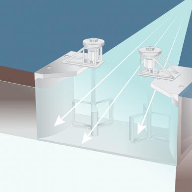 Illustration og a Water Windmill